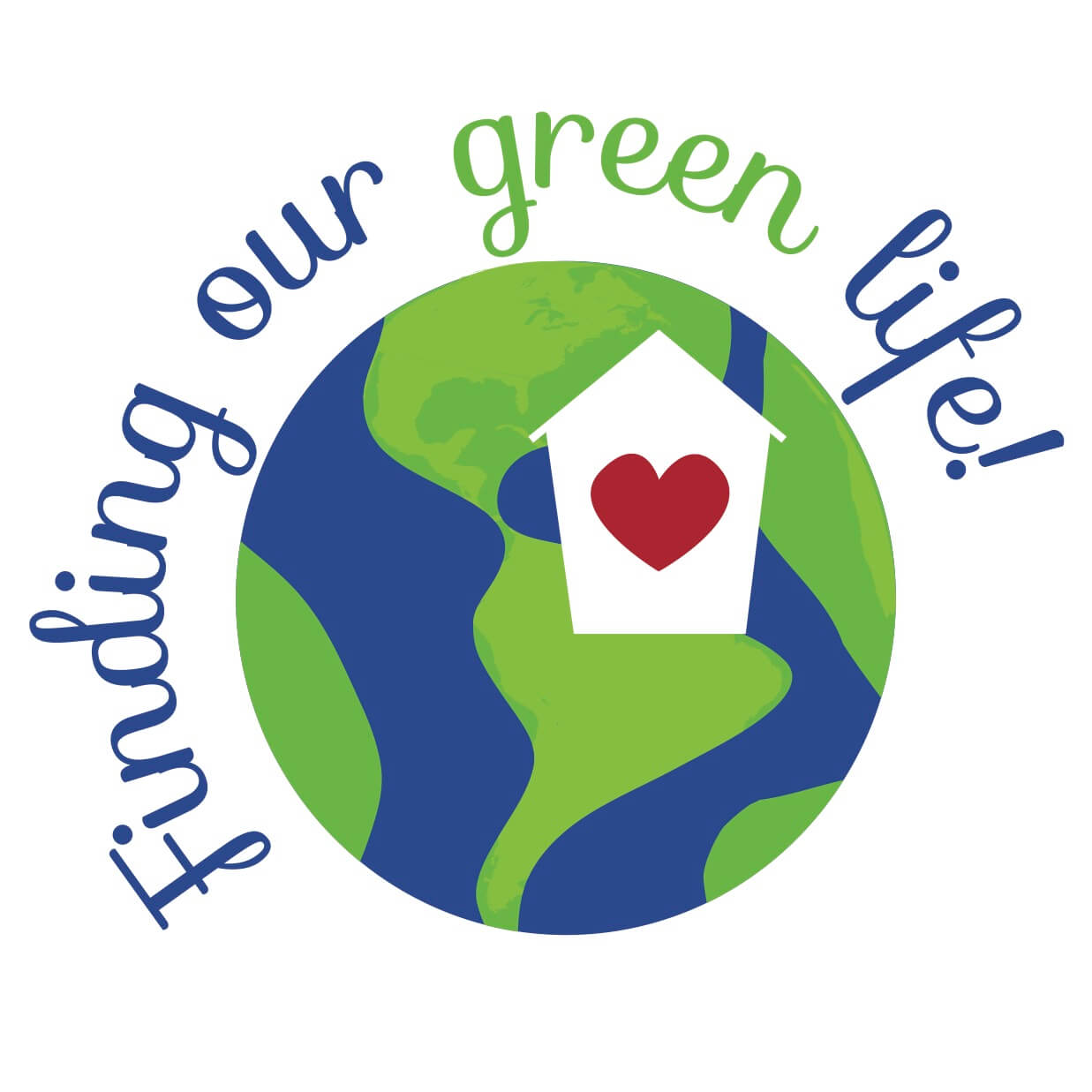 finding our green life logo