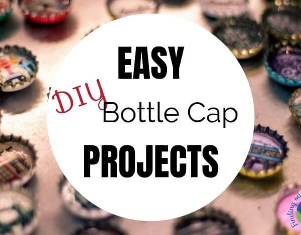 Easy DIY Bottle Cap Projects