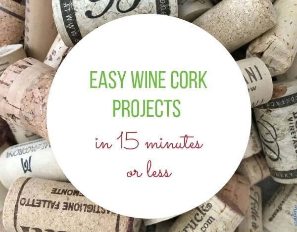 DIY Cork Projects in less than 15 minutes
