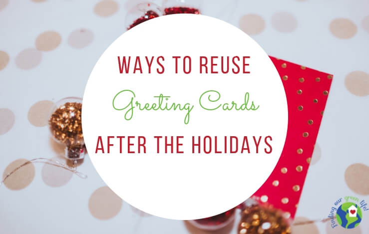 reuse greeting cards
