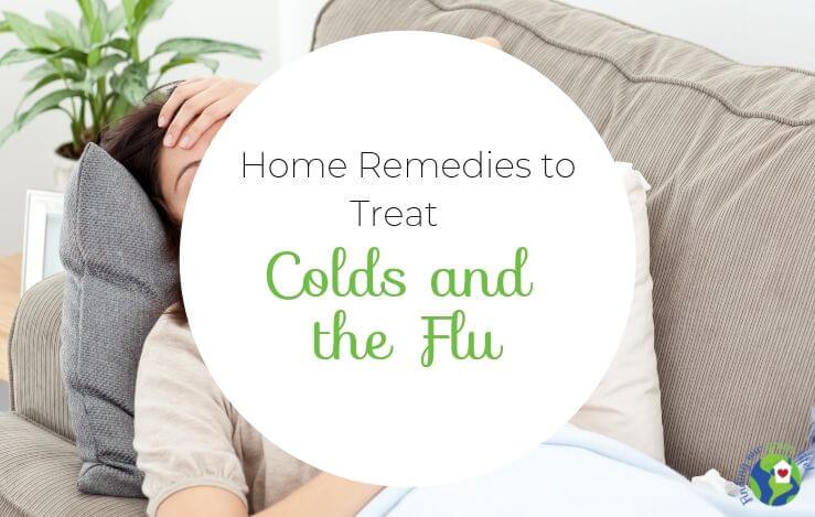 5 Ways I Treat Colds & Flu Naturally