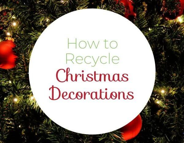How to Recycle Christmas Trees and Decorations