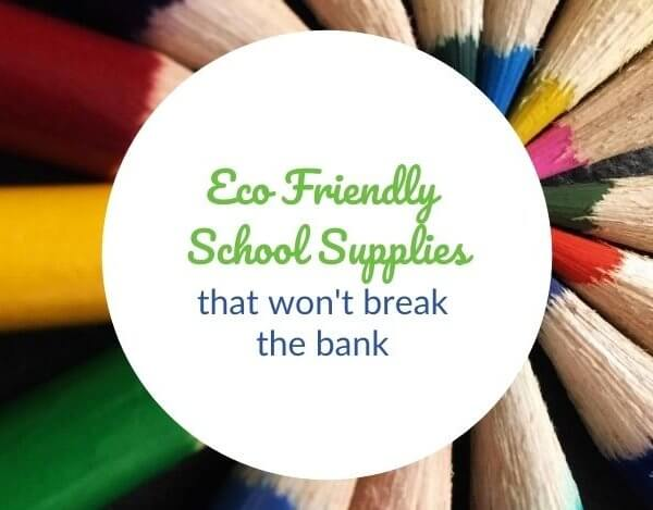 Eco Friendly School Supplies