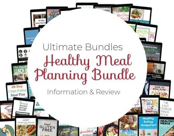 Ultimate Bundles Healthy Meal Planning Bundle 2020