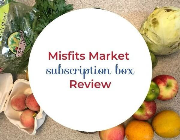 Misfits Market Box Review- Thoughts from a Mom