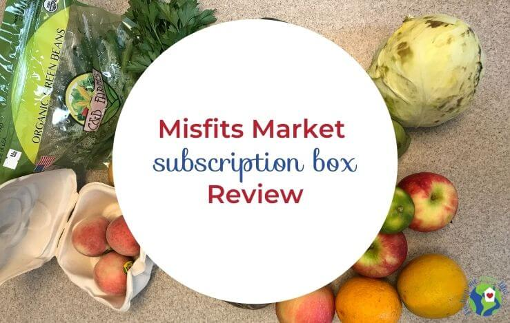 misfits market mischief box of produce with text overlay