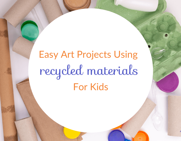 What Are Some Easy Recycling Art Projects for Kids
