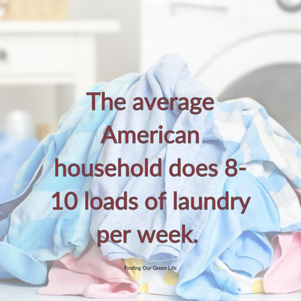 pile of laundry with text overlay